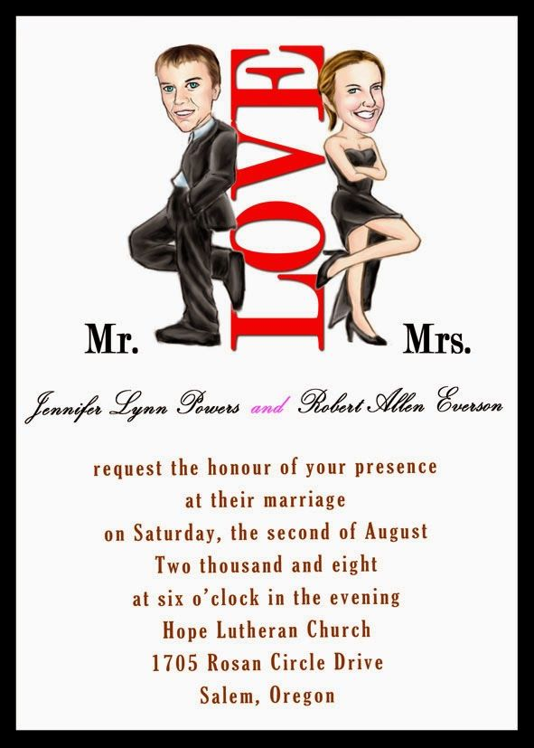 The 18 best funny wedding invites images on Pinterest | Weddings ...