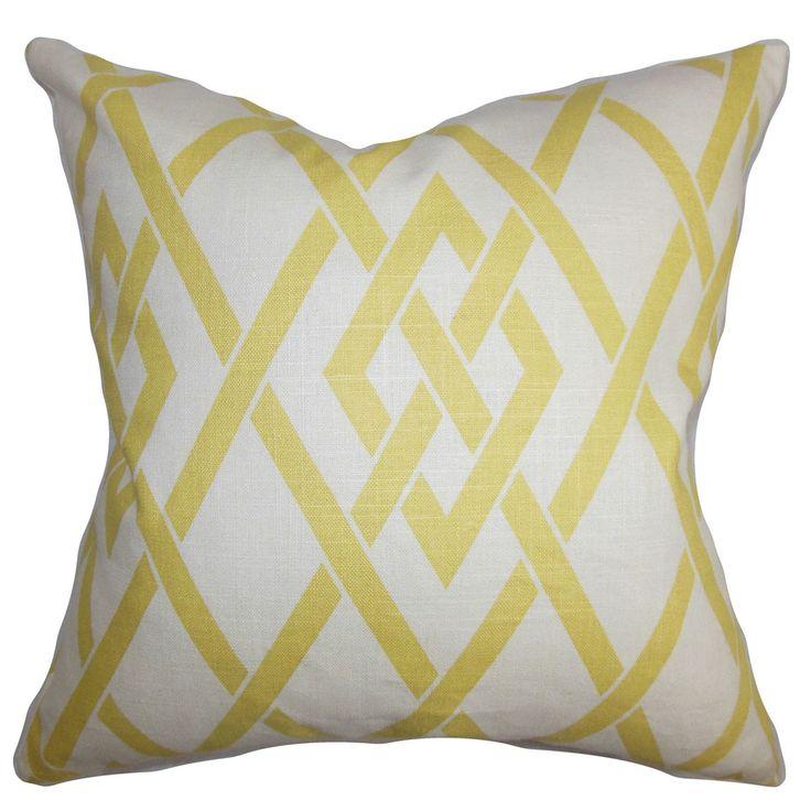 Abioye Geometric Throw Pillow