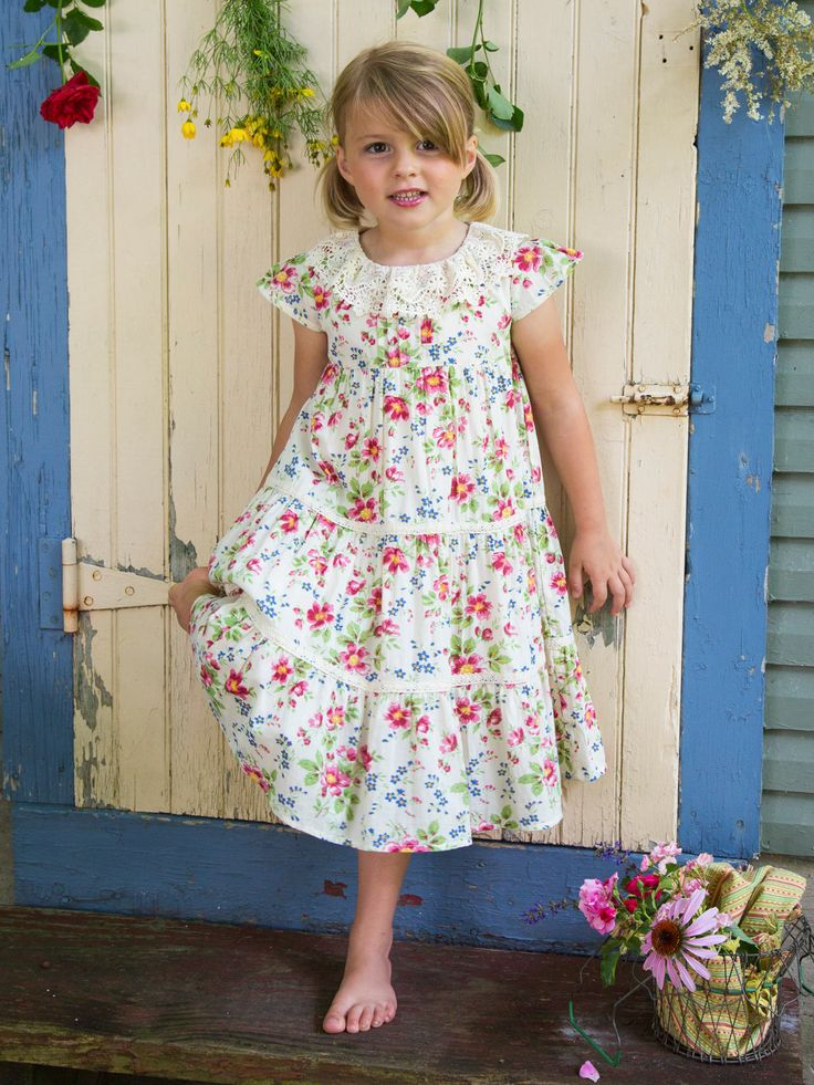 Magnolia Girls Dress Girls Amp Kids Beautiful Designs By