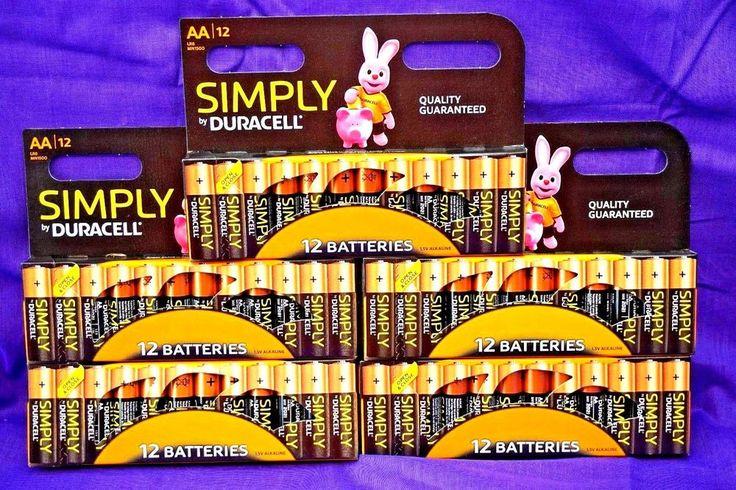 60 x Duracell AA Batteries.. Alkaline Battery.. Brand New Bateries