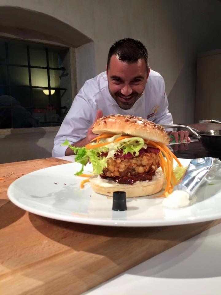 Fish burger di Chef Fabio Potenzano