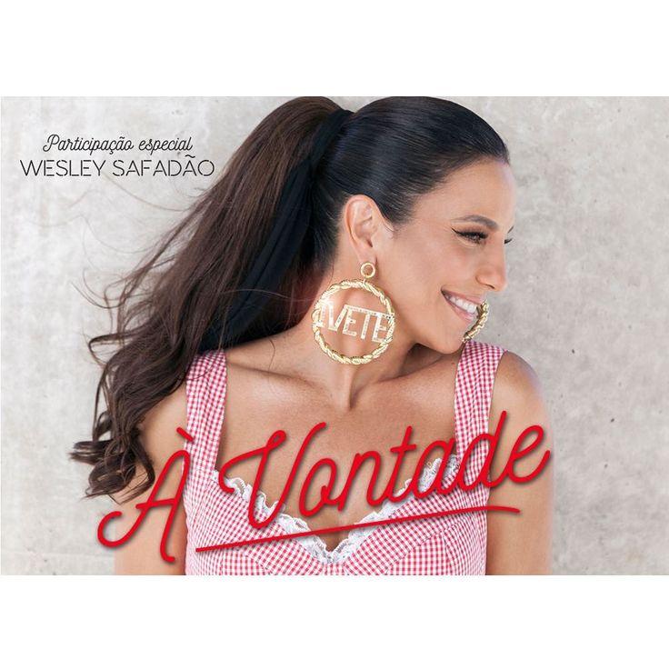 """64.3 mil curtidas, 1,024 comentários - Veveta (@ivetesangalo) no Instagram: """"Sexta tem música nova pra gente dançar junto, e eu amei essa capa do single!! À Vontade em todas as…"""""""