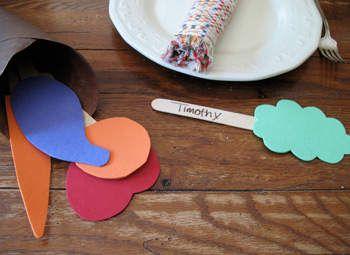 Paper Plate Cornucopia Craft: Thanksgiving Crafts for Kids & Decorations - Kaboose.com