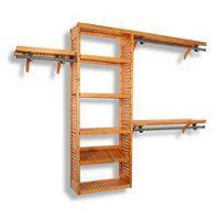Simplicity 10' Closet Organizer $299 Allows you to configure a closet storage system that's 6, 8, or 10' wide