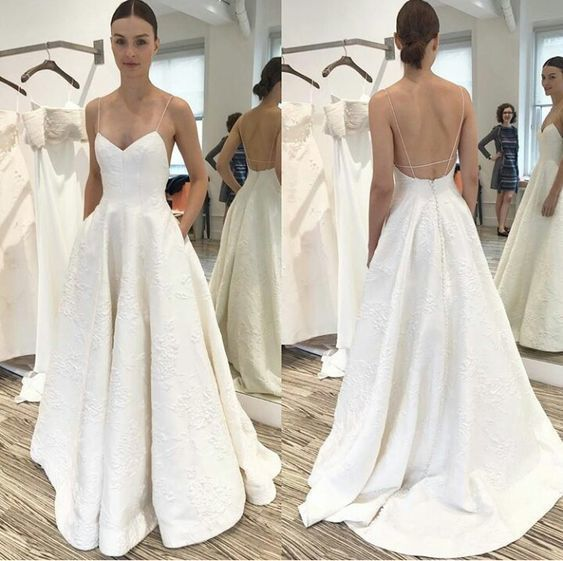 Simply wedding dresses it charming prom dress