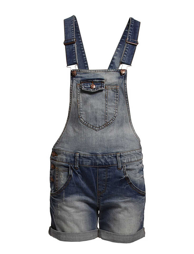 overall shorts from Only