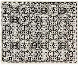 Handgetufteter Woll-Teppich Gita
