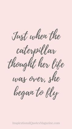 Inspirational Quote about Life and New Beginnings - Visit us at InspirationalQuot... for the best inspirational quotes!