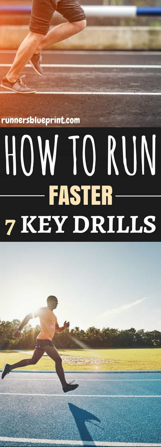 Committing to a regular speed drills routine, for at least 20 to 30 minutes per session two times per week will definitely help you run faster and improve your athletic power like nothing else. http://www.runnersblueprint.com/speed-drills-run-faster/ #Running #Fast