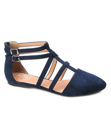 Stitch Fix Stylist: These shoes a really cute for fall. I wear flats a lot and these have some great interest to them. I like the blue color too.