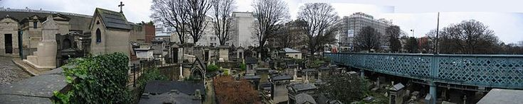 Montmartre Cemetery in Paris to visit the grave of Adolphe Sax
