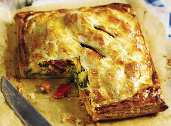 Πίτα+λαχανικών+νηστίσιμη