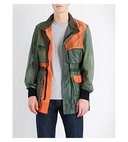 CHRISTOPHER RAEBURN Parachute Shell Field Jacket. #christopherraeburn #cloth #coats & jackets