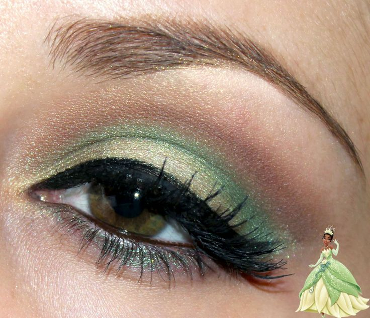 Disney Inspired Makeup - Tiana : Luhivy's favorite things