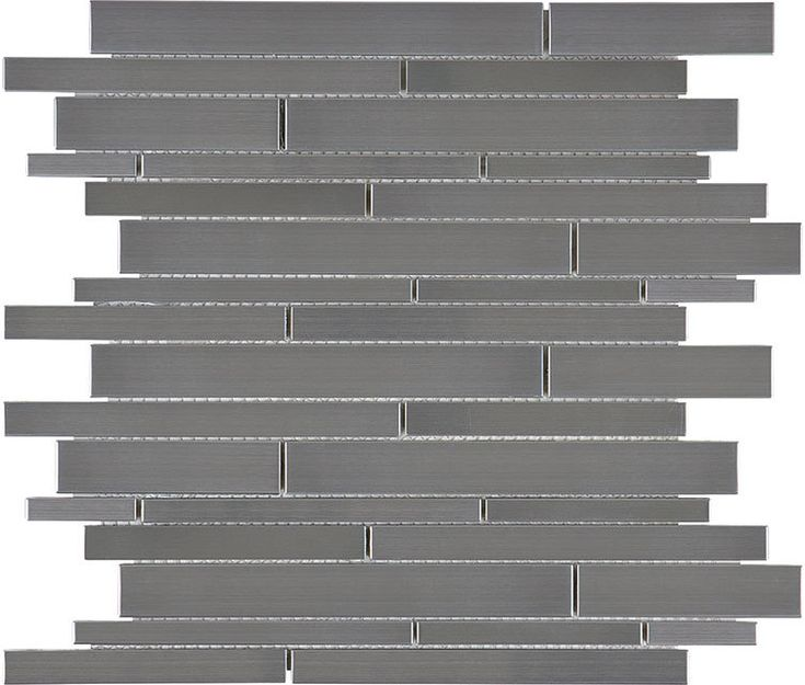 Discount Glass Tile Store - Stainless Steel Tile - Random Strip  - Sale Price $9.49 Sq.Ft, $9.49 (http://www.discountglasstilestore.com/stainless-steel-tile-random-strip-sale-price-9-49-sq-ft/)