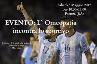 Omeopatia Clinica, Dott.ssa Giuliana Comin: EVENTO: L` Omeopatia incontra lo sportivo.