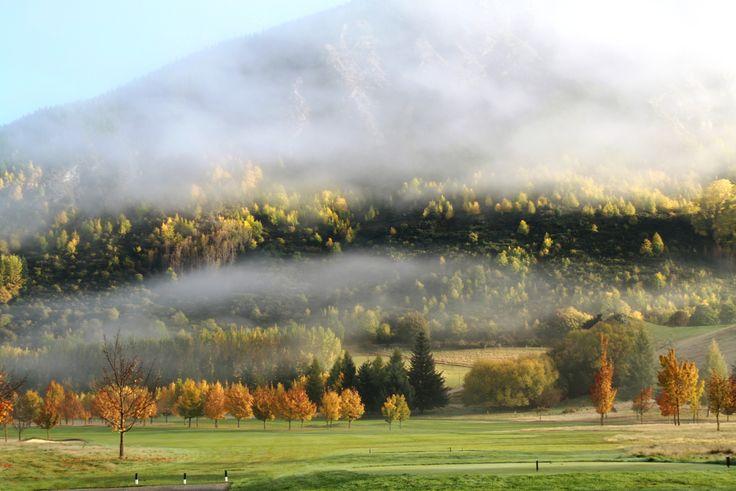 Morning mist #millbrookresort #autumn