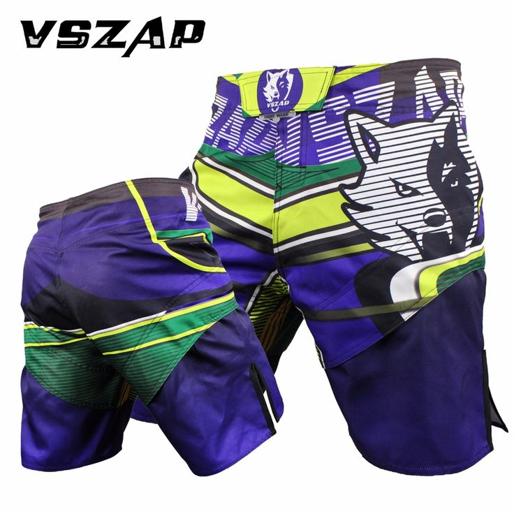 2017 New Men's boxing pants MMA Shorts Fight Grappling Short Polyester Kick Gel boxing Muay Thai pants Thai boxing Shorts MMA