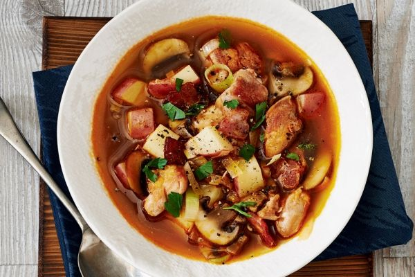 Coq Au Vin Soup