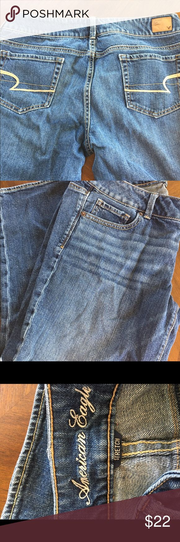 CLOSET CLEAR OUT American Eagle woman's crop jeans Woman's size 14 American Eagle jeans. Crop style. American Eagle Outfitters Jeans