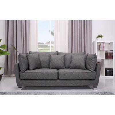 Leader Lifestyle Langdon 3 Seater Sofa, Misty Grey