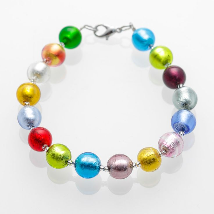 Classica Bracelet - Venetian Murano Glass Jewellery for Australia - www.italianheart.com.au
