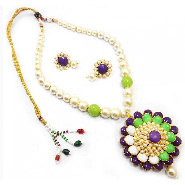 16 best Pendant Sets images on Pinterest | Pendant set, Jaipur and ...