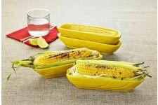 Davis & Waddell Terra Fiesta Corn Dish 4pc Set