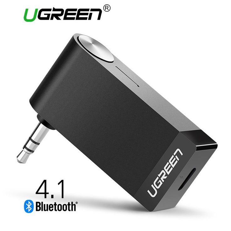 Ugreen Wireless Bluetooth Receiver 3.5mm Jack Bluetooth Audio Music Receiver Adapter Car Aux Cable Free for Speaker Headphone //Price: $15.20//     #storecharger