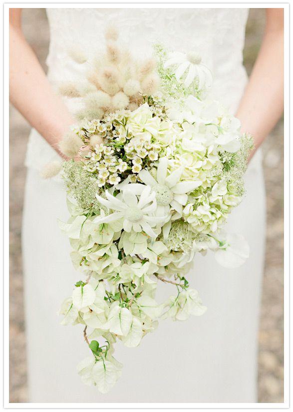 cascading bouquet