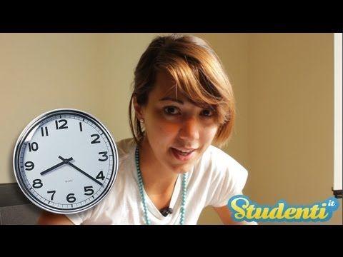 Metodi di studio - Come organizzare il pomeriggio di studio - YouTube