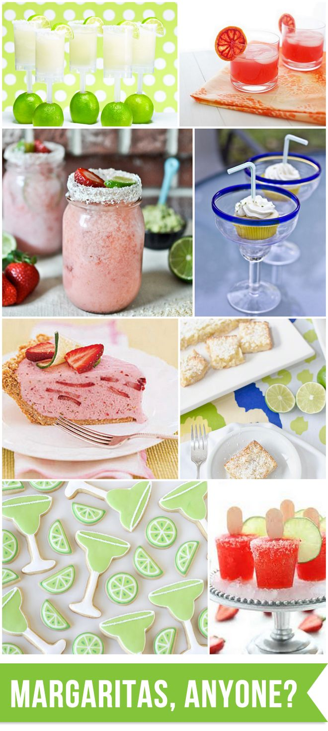 Did you know it's NATIONAL MARGARITA DAY?! Celebrate in style with one of these yummies!