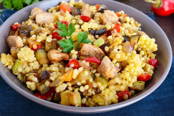Zöldséges kuszkusz csirkemellel Recept képpel - Mindmegette.hu - Receptek
