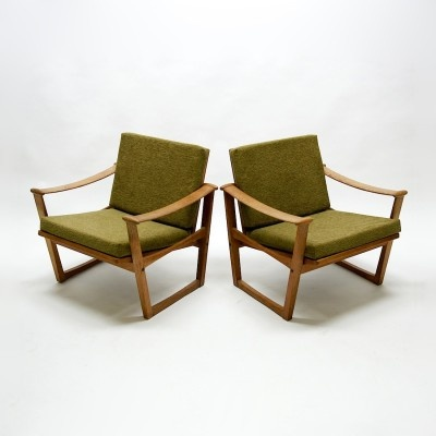 Finn Juhl; Lounge Chairs for Pastoe, 1950s.