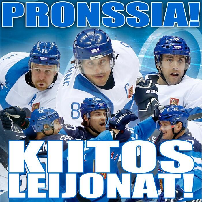 Thannks for that Leijonat! #Sotshi<3