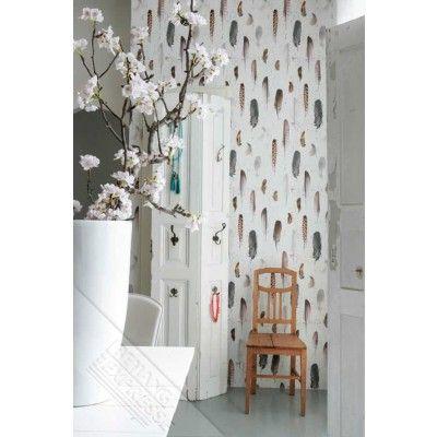 behang veertjes ibiza http://www.behangmijnwoning.nl/onszelf-8107.html