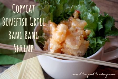Copycat Bonefish Grill BangBang Shrimp Appetizer recipe pinned by @Ruth H. Dodsworth Cravings {Kate Sorensen}