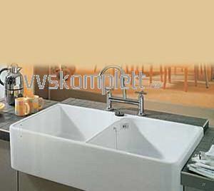 Villeroy & Boch Old Line 90 kjøkkenvask porselen