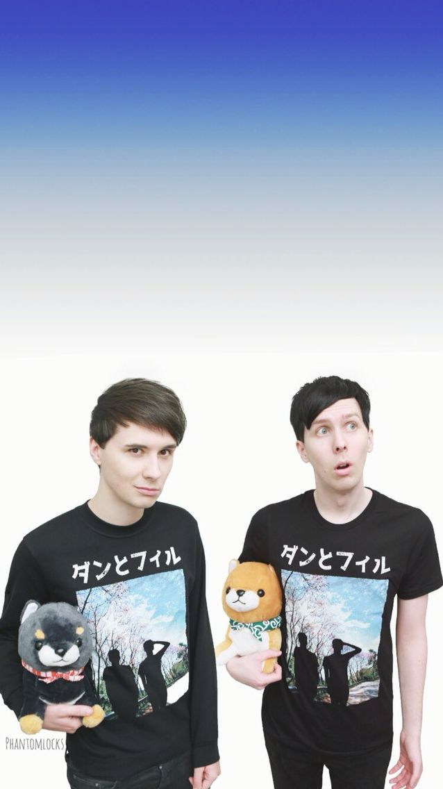 Dan What Are You Doing Stop That Look Is Only Meant For Phil