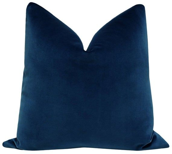Sapphire Decorative Pillow Cover