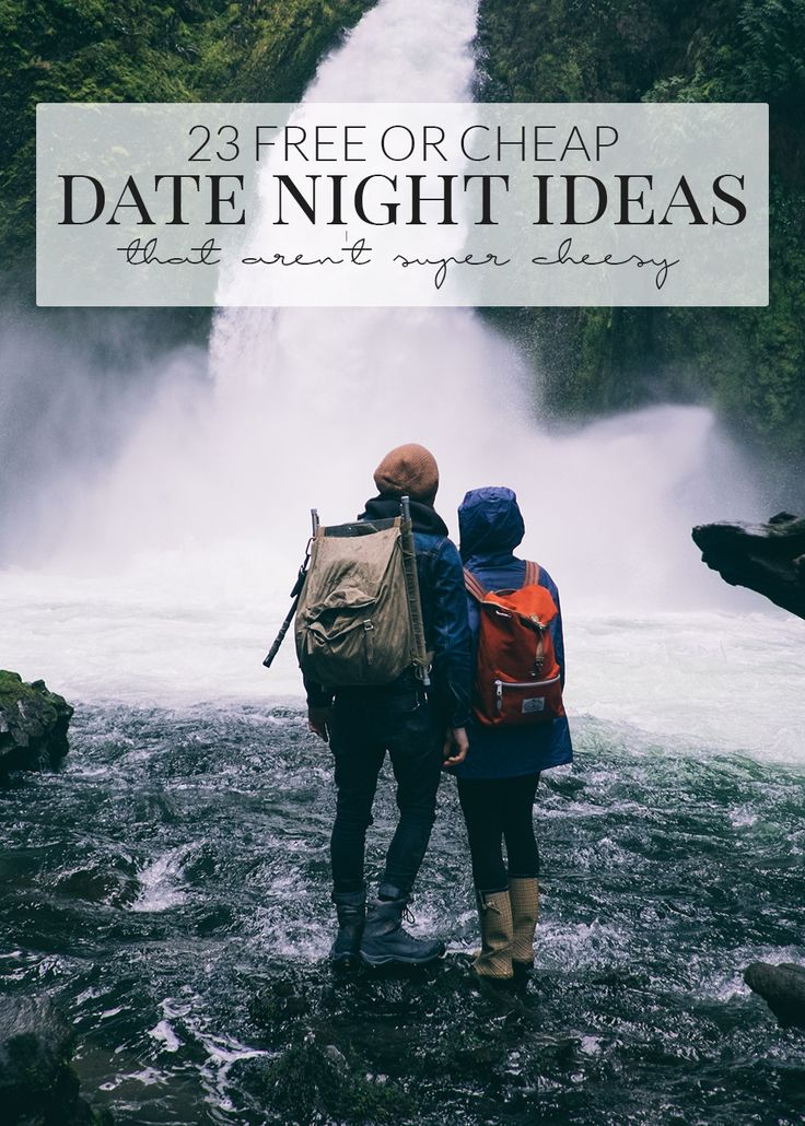 Dating on a budget night
