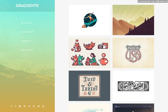 Check out Gradiente by PaulBorsan on Creative Market
