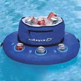 Swimways Stowable Pool Cooler Float