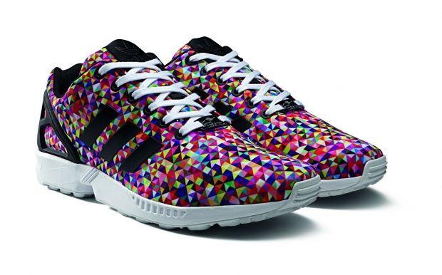 Adidas Originals ZX Flux prism print