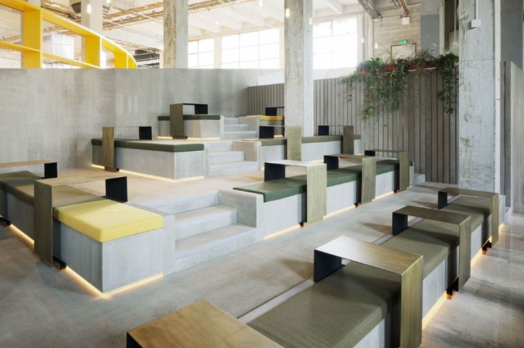 The Palais de Tokyo unveils its new restaurant by Lina Ghotmeh