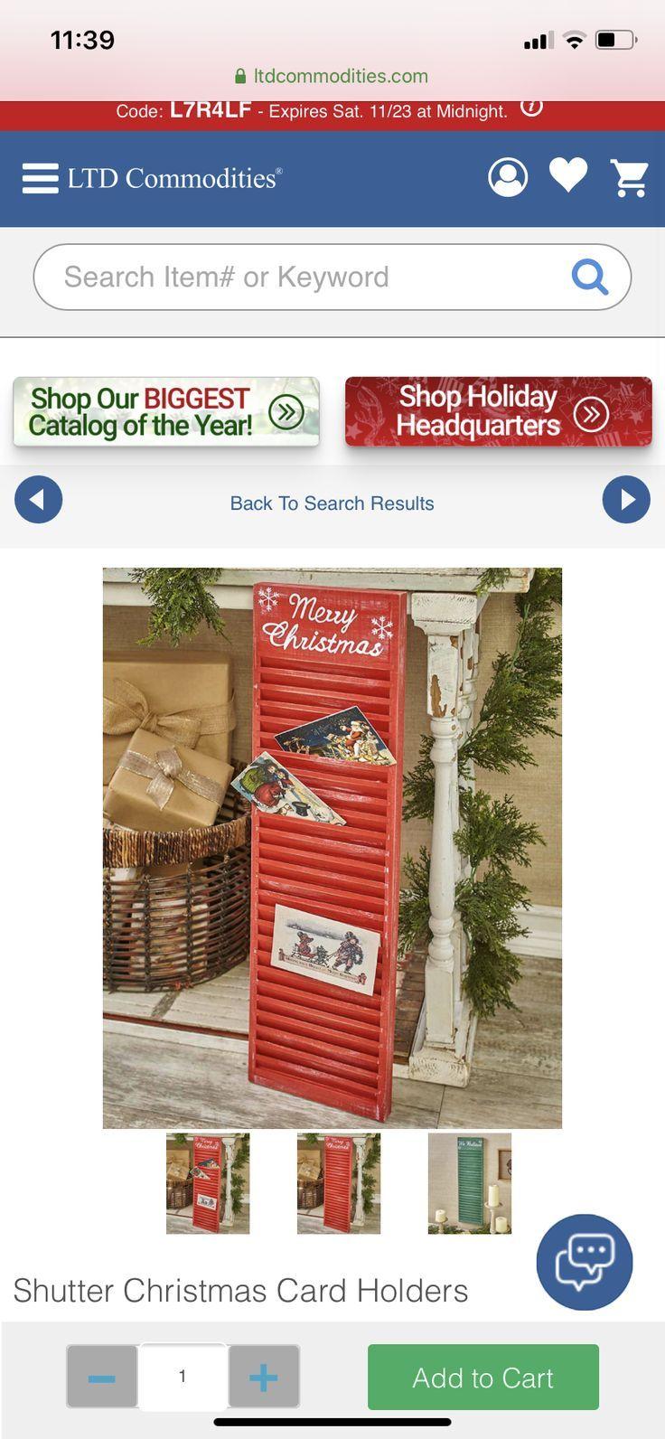 Ltd Commodities Catalog Christmas 2020 Ltd Commodities Catalog Christmas in 2020 | Christmas card holders