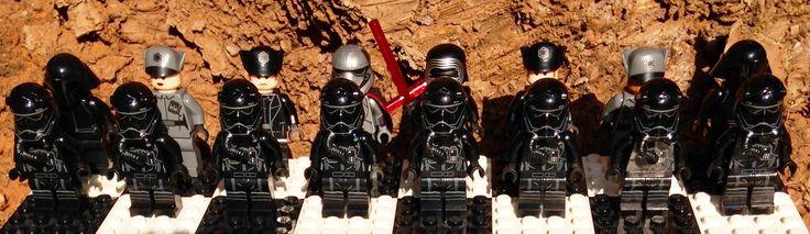 Star Wars The Force Awakens LEGO Chess Set