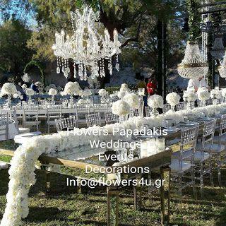 flowers4u.gr   : γαμος με λευκες ορτανσιες στο Island !Wedding with...