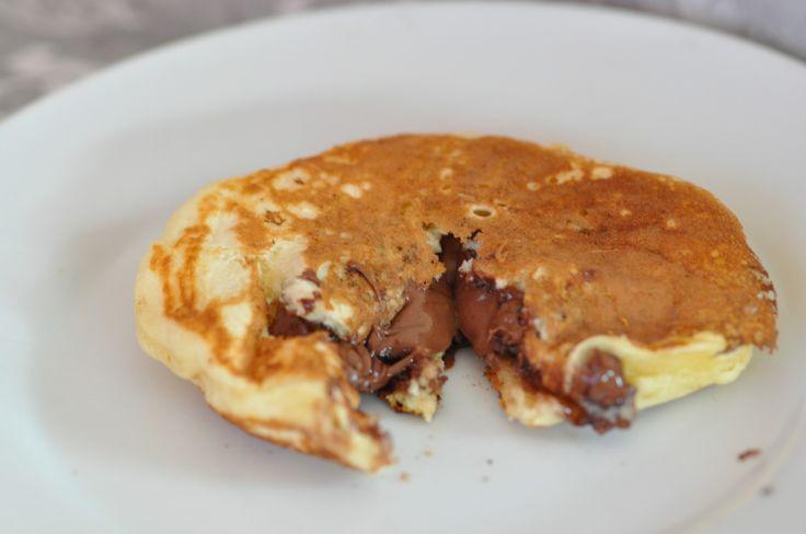 pancake fourré nutella