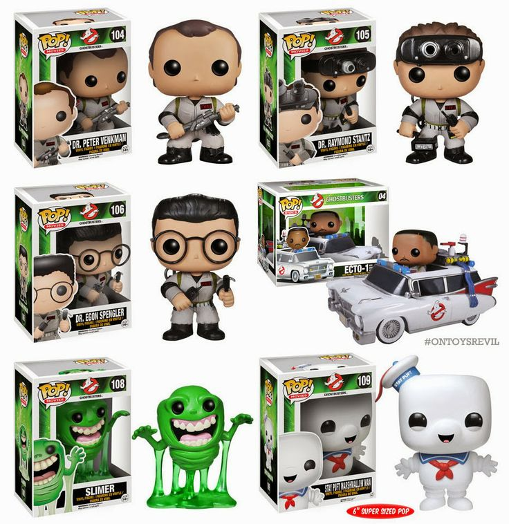 Pop Movies Ghostbusters From Funko Pop Movie